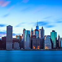 Buy canvas prints of Manhattan Skyline by Chris Owen
