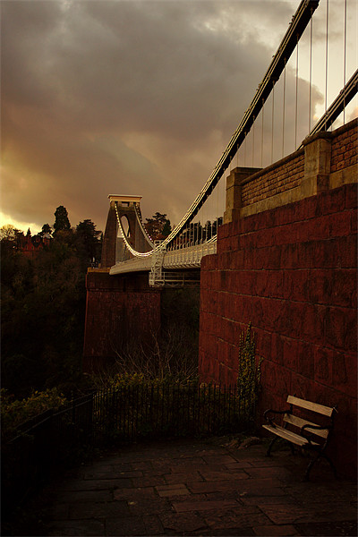Clifton Suspension Bridge Canvas print by jon betts