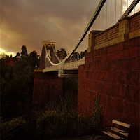 Buy canvas prints of Clifton Suspension Bridge by jon betts
