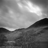 Buy canvas prints of View of Haystacks and High Crag above Buttermere.  by Liam Grant