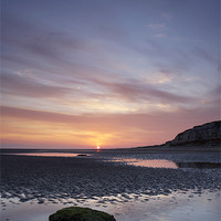 Buy canvas prints of Cliffs at Sunrise, Old Hunstanton, Norfolk by Liam Grant