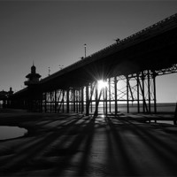 Buy canvas prints of Blackpool Pier by Anth Short