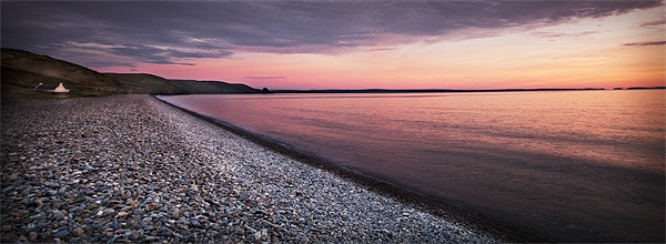 NEWGALE SUNSET#2 Canvas print by Anthony R Dudley (LRPS)