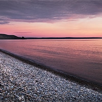 Buy canvas prints of NEWGALE SUNSET#2 by Anthony R Dudley (LRPS)