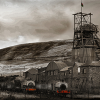 Buy canvas prints of BIG PIT #2 by Anthony R Dudley (LRPS)