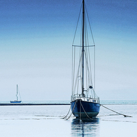 Buy canvas prints of EARLY MORNING LIGHT ANGLE BAY by Anthony R Dudley (LRPS)