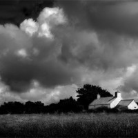 Buy canvas prints of PEMBROKESHIRE COTTAGE (2) by Anthony R Dudley (LRPS)