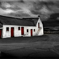 Buy canvas prints of PEMBROKESHIRE LONG BARN by Anthony R Dudley (LRPS)