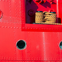 Buy canvas prints of Lightship abstract by Howard Corlett