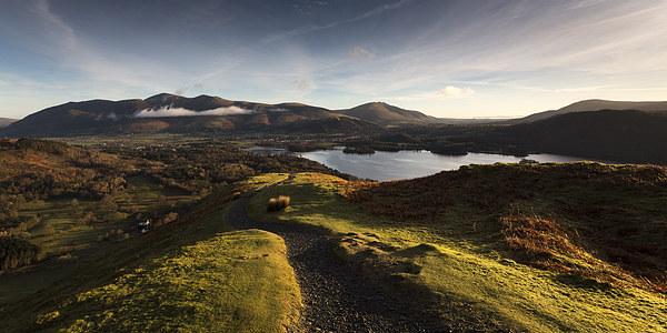 Lake District Sunrise Canvas Print by Simon Wrigglesworth