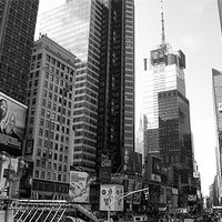 Buy canvas prints of Times Square - Manhattan by Simon Wrigglesworth