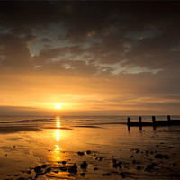 Buy canvas prints of Golden Sands by Simon Wrigglesworth