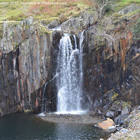 Buy canvas prints of 3. Walna Scar Waterfall by Paul Leviston