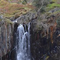 Buy canvas prints of 4. Walna Scar Waterfall by Paul Leviston