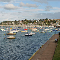 Buy canvas prints of Brixham Harbour by graham young