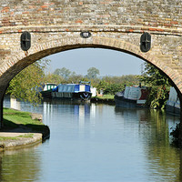 Buy canvas prints of Bridge 123 by graham young