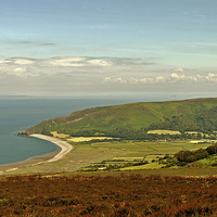 Buy canvas prints of Porlock  by graham young