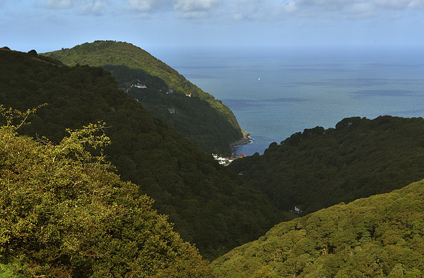 Lynmouth  Canvas print by graham young