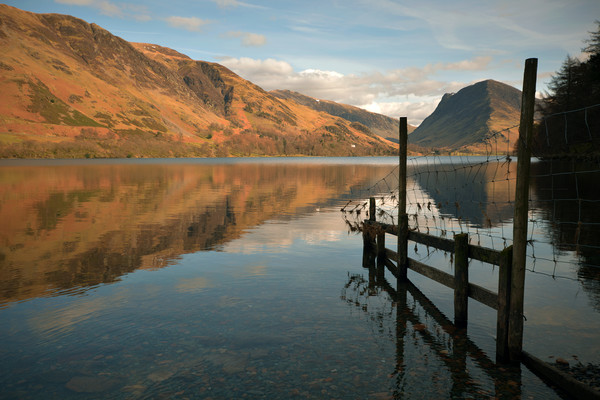 Buttermere Canvas print by graham young