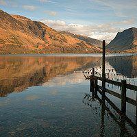 Buy canvas prints of Buttermere by graham young
