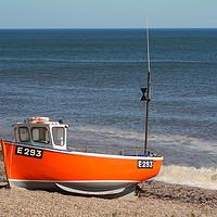 Buy canvas prints of Fishing Boat by Nicola Clark