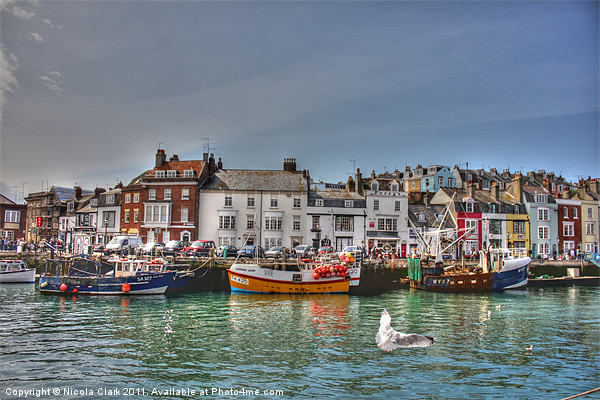 Weymouth Harbour Canvas print by Nicola Clark