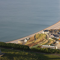 Buy canvas prints of Chesil Cove by Nicola Clark