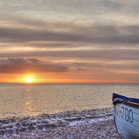 Buy canvas prints of Boat On The Beach by Nicola Clark