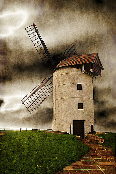 Storm in the Sails Canvas print by Christine Lake
