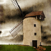 Buy canvas prints of Storm in the Sails by Christine Lake