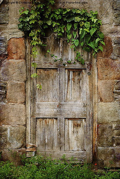 Old Door Canvas print by Christine Lake