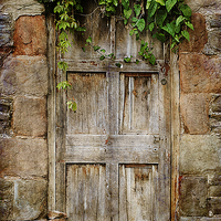 Buy canvas prints of Old Door by Christine Lake