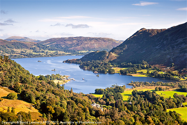 Ullswater Canvas print by David Lewins (LRPS)
