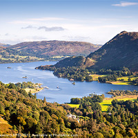 Buy canvas prints of Ullswater by David Lewins (LRPS)