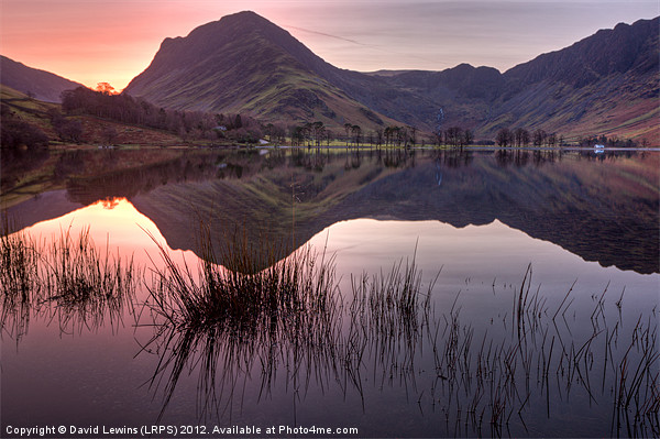 Fleetwith Pike - Buttermere Canvas print by David Lewins (LRPS)