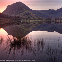 Buy canvas prints of Fleetwith Pike - Buttermere by David Lewins (LRPS)