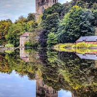 Buy canvas prints of Durham Cathedral by David Lewins (LRPS)