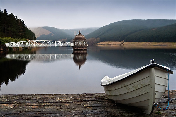 Talla Reservoir - Scottish Borders Canvas print by David Lewins