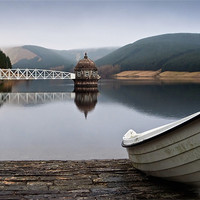 Buy canvas prints of Talla Reservoir - Scottish Borders by David Lewins
