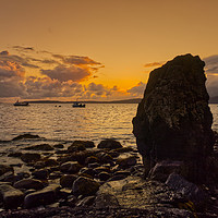 Buy canvas prints of Elgol Sunset by David Lewins (LRPS)