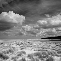 Buy canvas prints of Clouds And Tranquility by Robert Geldard