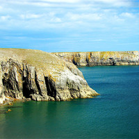 Buy canvas prints of Pembrokeshire Coast.Wales. by paulette hurley