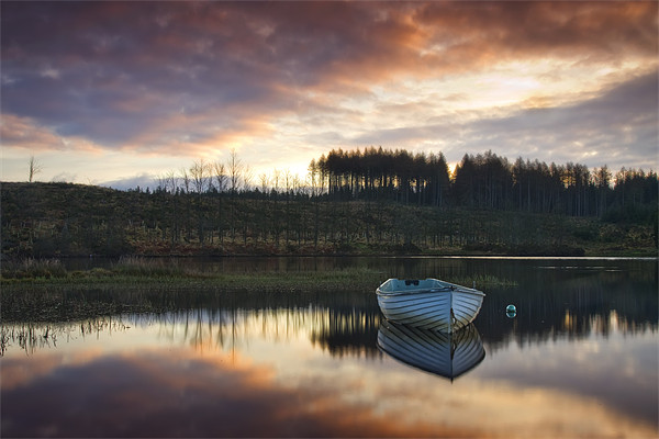 Loch Rusky , Trossachs Canvas print by David Mould