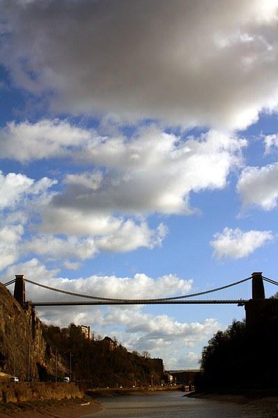 Clifton Suspension Bridge Canvas Print by Thomas Mudge