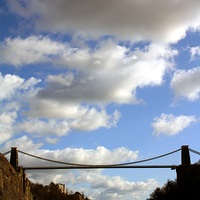 Buy canvas prints of Clifton Suspension Bridge by Thomas Mudge