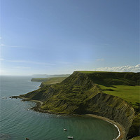 Buy canvas prints of Chapmans Pool - Isle of Purbeck by Donna Collett