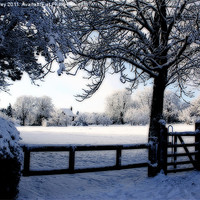 Buy canvas prints of One Winter's Day by Ian Jeffrey