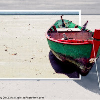 Buy canvas prints of Beached by Ian Jeffrey