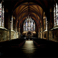 Buy canvas prints of Chichester Cathedral by Ian Jeffrey