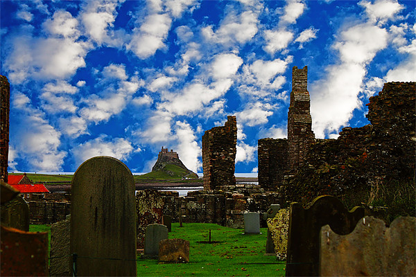 Lindisfarne Canvas print by Ian Jeffrey